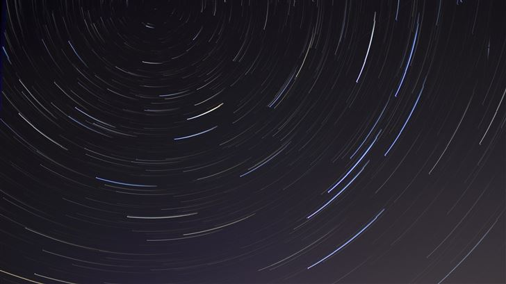 abstract star nights time lapse Mac Wallpaper
