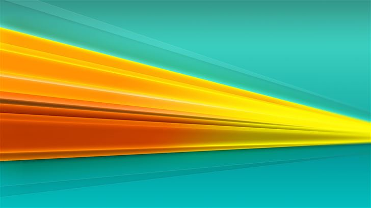 colorful stripes 5k Mac Wallpaper
