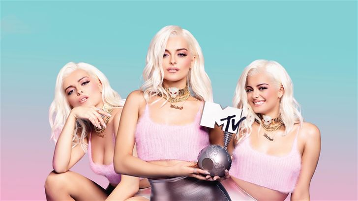 bebe rexha mtv Mac Wallpaper