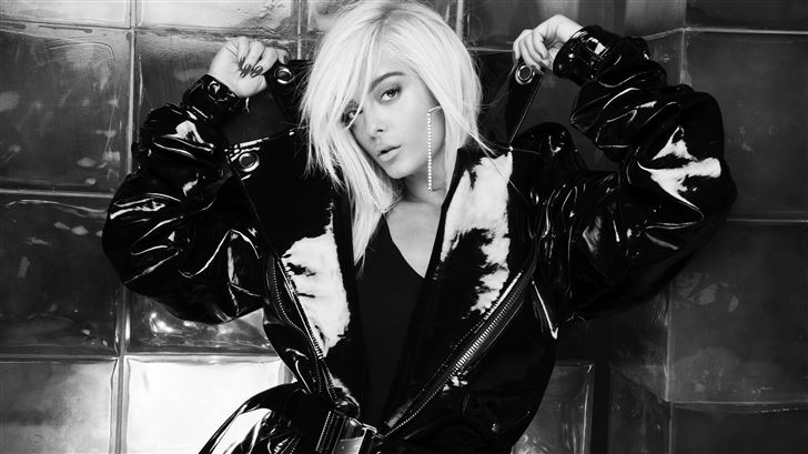 bebe rexha monochrome 2019 Mac Wallpaper