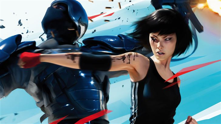 2019 mirrors edge catalyst 5k Mac Wallpaper