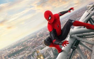 spider man far from home 5k 2019 All Mac wallpaper