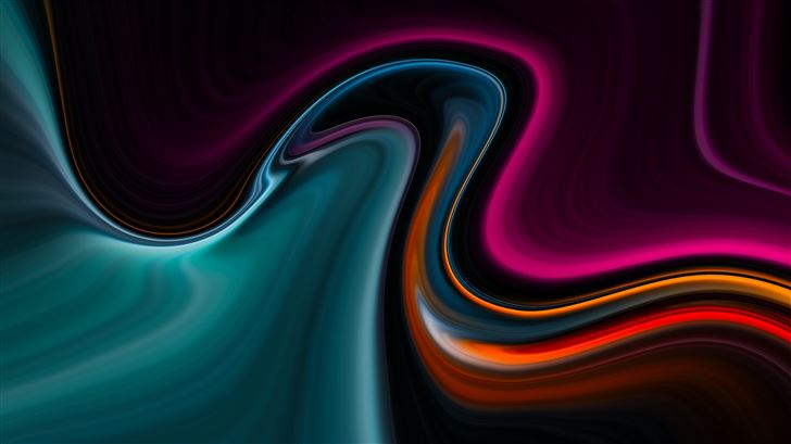 movement colors abstract 8k Mac Wallpaper