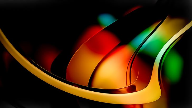 abstract colors remix 4k Mac Wallpaper