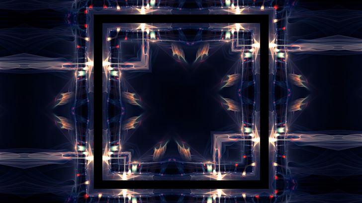 cosmos pattern illustration Mac Wallpaper