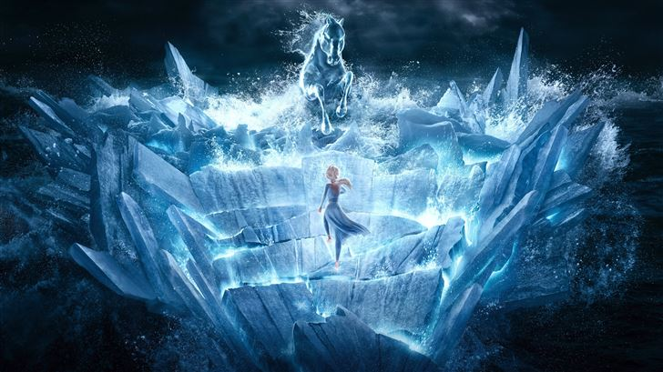 frozen 12k Mac Wallpaper