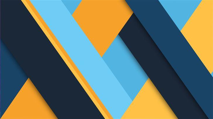 material design colors 8k Mac Wallpaper
