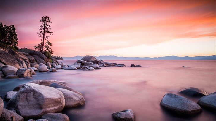 lake tahoe 5k Mac Wallpaper