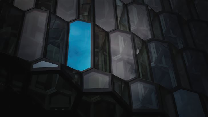 hope windows abstract 5k Mac Wallpaper