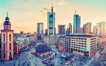 Frankfurt germany cities Mac wallpaper