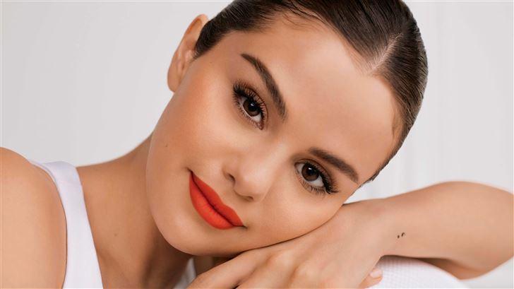 selena gomez rare beauty 2020 10k Mac Wallpaper