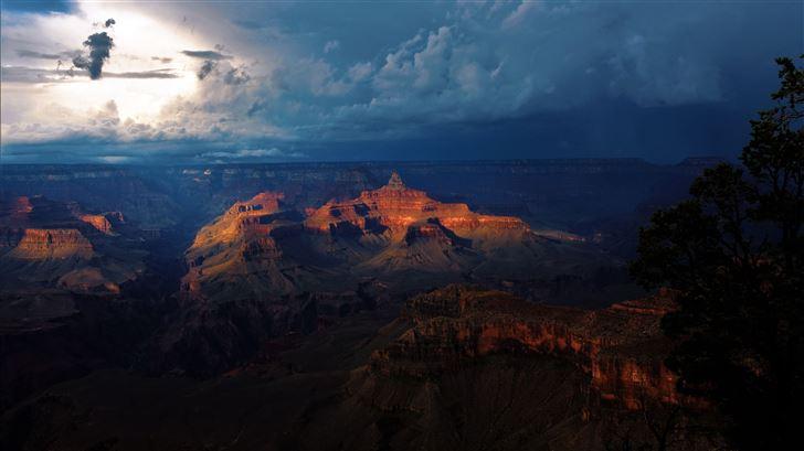 grand canyon national park in arizona 5k Mac Wallpaper