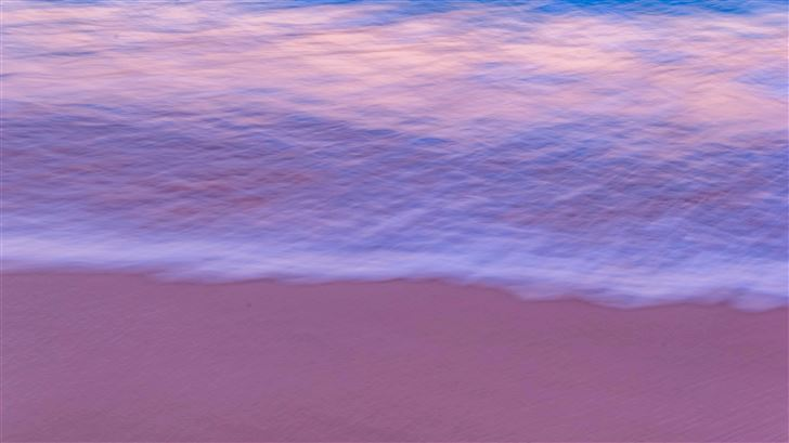 sea shore silent 5k Mac Wallpaper