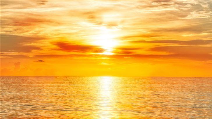 florida sunrise 8k Mac Wallpaper