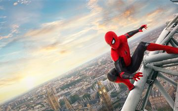 5k spider man far from home All Mac wallpaper