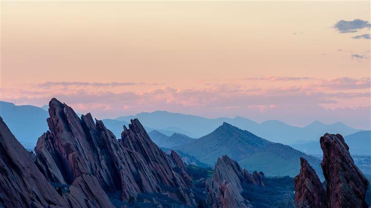 outdoors nature mountain range 5k Mac Wallpaper