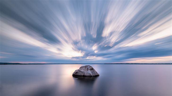 pier calm nature 5k Mac Wallpaper
