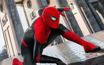 spider man far from home 5k All Mac wallpaper