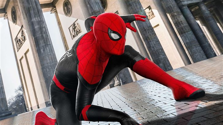 spider man far from home 5k Mac Wallpaper