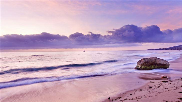 beach ridge 5k Mac Wallpaper