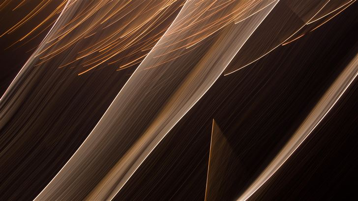 brown white paint abstract 4k Mac Wallpaper