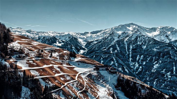 alps mountains 5k Mac Wallpaper
