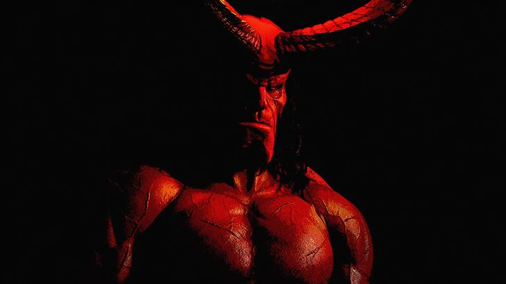 hellboy 5k 2019 poster Mac Wallpaper