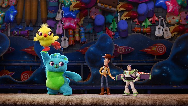 toy story 4 2019 5k Mac Wallpaper
