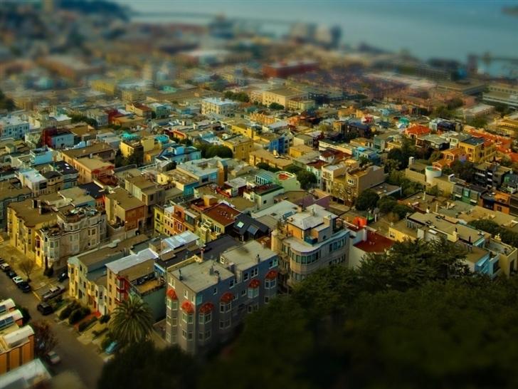 California San Francisco cityscapes Mac Wallpaper