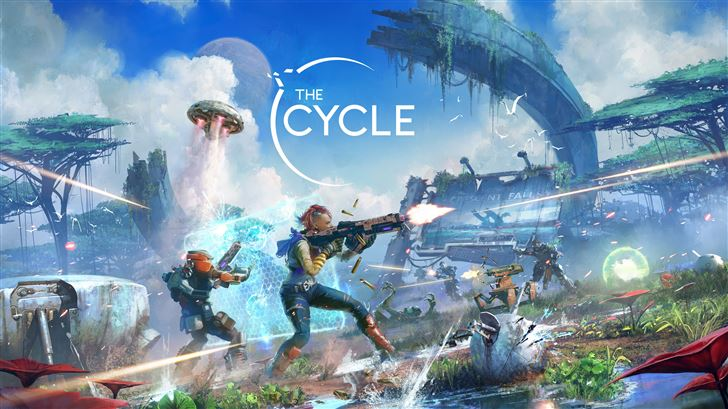 the cycle season 2 crescent falls key art 5k Mac Wallpaper