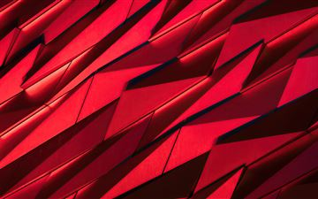 red sharp shapes texture 4k All Mac wallpaper
