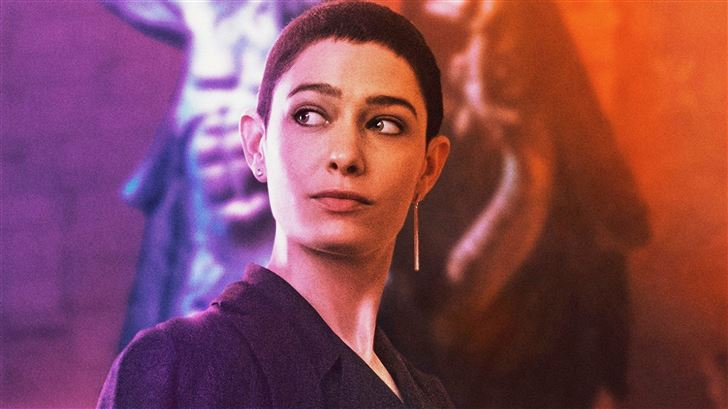 asia kate dillon in john wick chapter 3 parabellum Mac Wallpaper