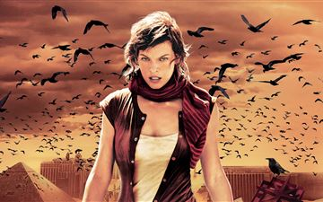 resident evil extinction 2007 All Mac wallpaper