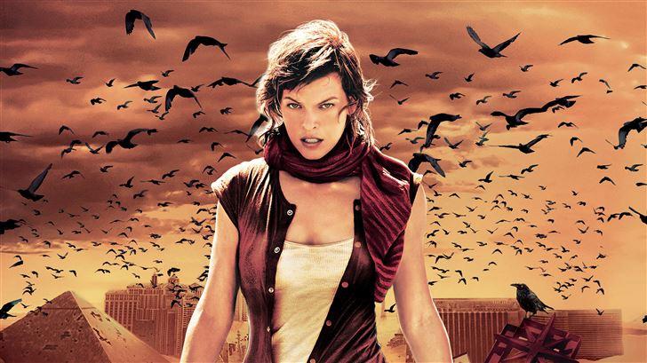 resident evil extinction 2007 Mac Wallpaper