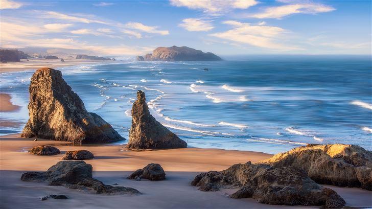oregon coast 5k Mac Wallpaper