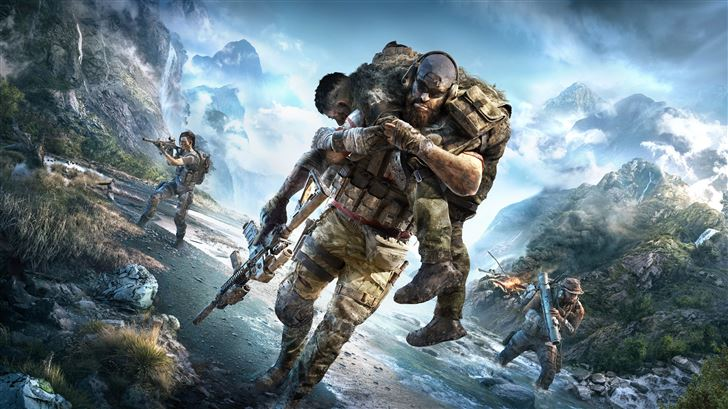 tom clancys ghost recon breakpoint Mac Wallpaper