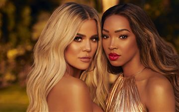 khloe kardashian and malika haqq MacBook Pro wallpaper
