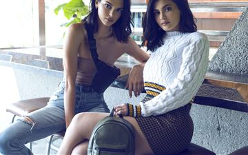 kendall and kylie fall collection 2018 MacBook Pro wallpaper