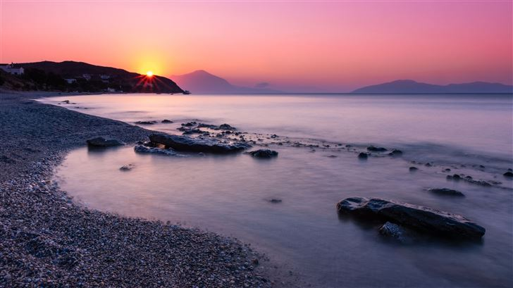 sunrise at faros 5k Mac Wallpaper