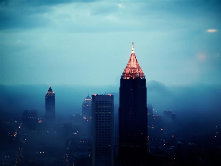 Atlanta building cities Mac Wallpaper