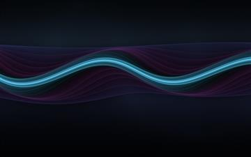 Abstract line Mac wallpaper