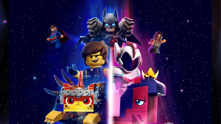 the lego movie 2 the second part 10k Mac Wallpaper