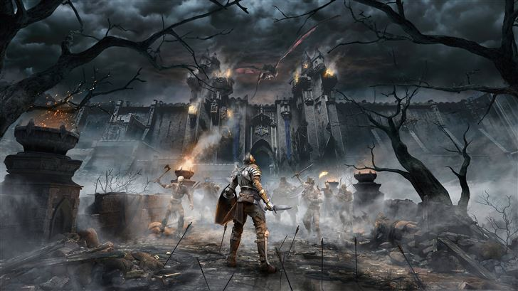 demons souls remake 2020 Mac Wallpaper