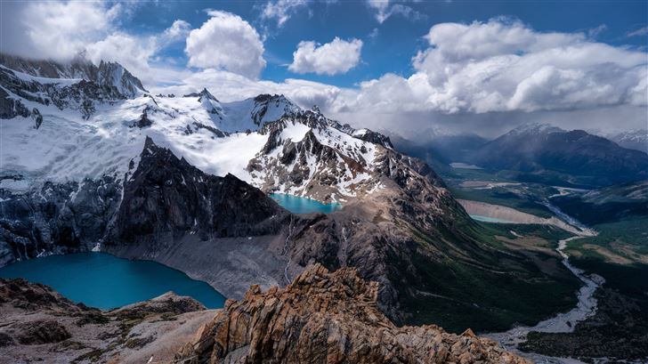 argentina mountains 5k Mac Wallpaper