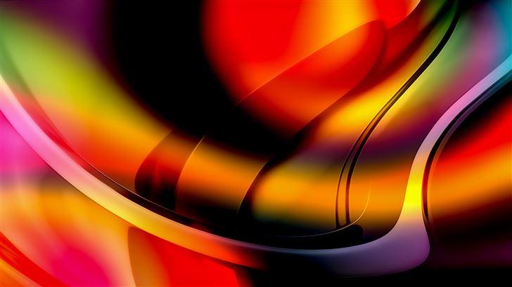 abstract quad tone 4k Mac Wallpaper