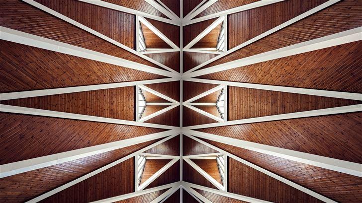 church hidden away creative photography 5k Mac Wallpaper