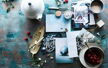 assorted table decors MacBook Air wallpaper