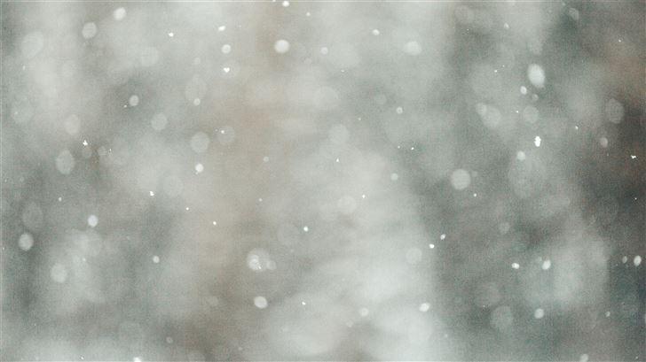 bokeh photography of gray lights Mac Wallpaper