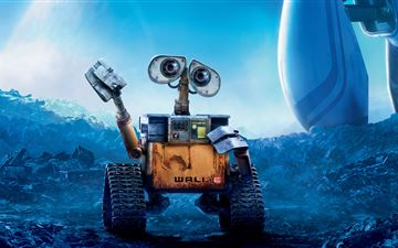 wall e 5k MacBook Air wallpaper