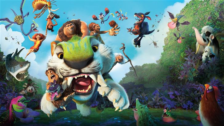 the croods a new age 12k Mac Wallpaper